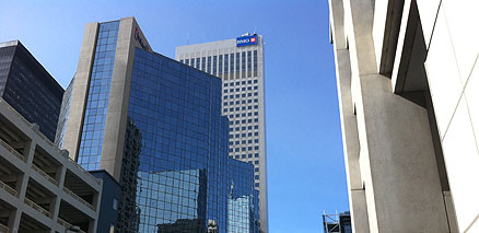 Downtown Calgary BMO Building