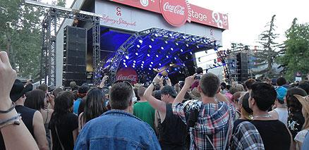 Stampede Coke Stage