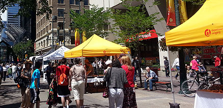 Stephen Avenue Vendors