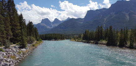 snapix_canmore_river_view_from_bridge